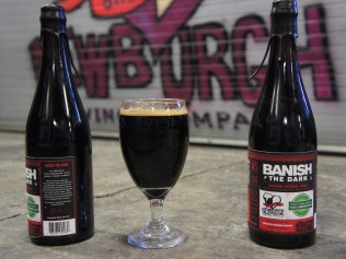 Russian Imperial Stout Brewed with Cinnamon & Pomegranate Juice