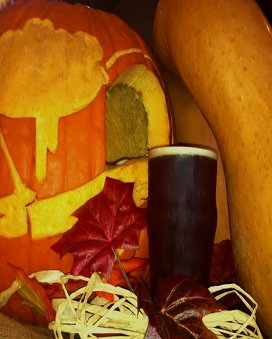 A Belgian Amber Ale that has been brewed with pumpkin and butternut squash obtained from a local farm right here in New York.
