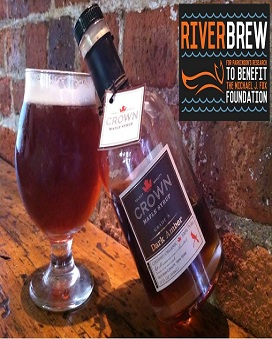An Irish Red brewed with Crown Maple Syrup to benefit Team Fox of the Michael J. Fox Founation